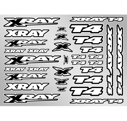 XRAY T4 Sticker for Body - White