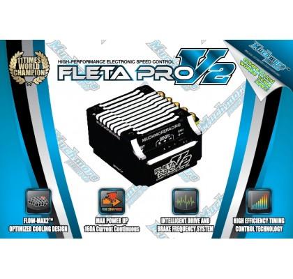 Fleta Pro V2 ESC-Siyah