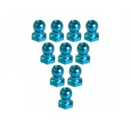 4.8MM Ball Stud L=5 (10 pcs) - Light Blue