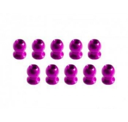5.8MM Hex Ball Stud L=5 (10 pcs) - Pink