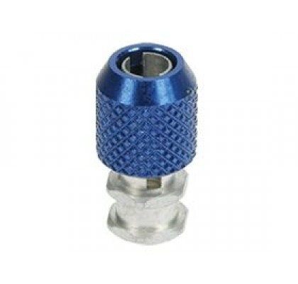 Antenna Post 3mm Holder Blue