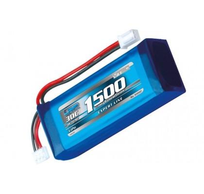 1500mah 7.4v 2s 30C Lipo Battery
