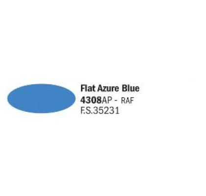 Flat Azure Blue