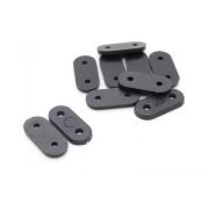 Gear Plates 22x10mm (5pcs/set)