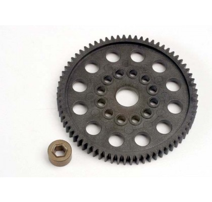 Spur gear (72-Tooth) (32-Pitch) w/Bushing