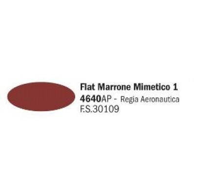 Flat Marrone Mimetico 1