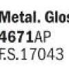 Metal Parlak Altın