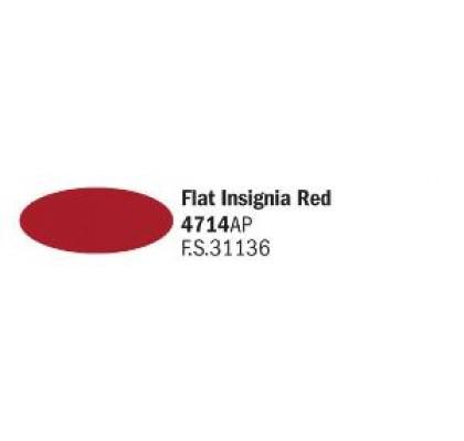 Flat Insignia Red