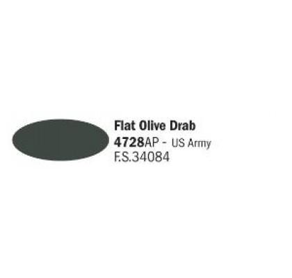 Flat Olive Drab Army