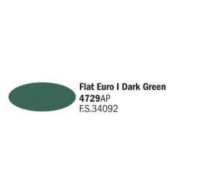 Flat Euro / Dark Green