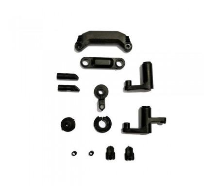 Steering + Servo Saver + Pil Yuvası Kapağı / Kilidi