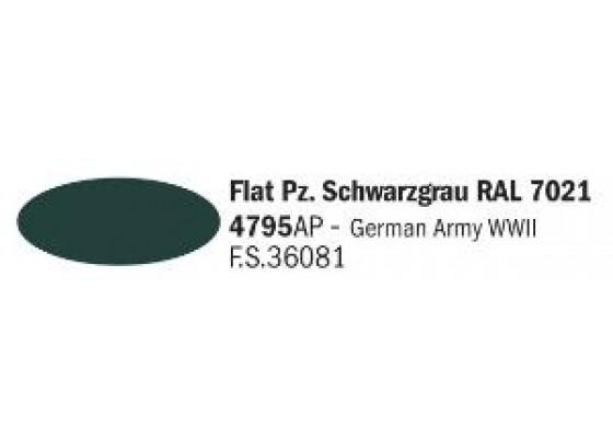 Flat Pz. Schwarzgrau RAL7021