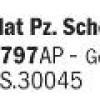 Flat Pz. Schokobraun RAL8017