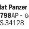 Flat Panzer Olivgrün 1943