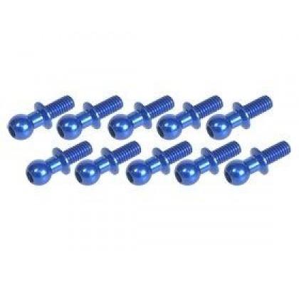 4.8MM Ball Stud L=6 (10 pcs) BLUE