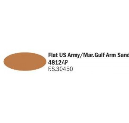 Flat US Army/Mar. Gulf Arm Sand