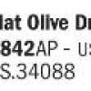 Flat Olive Drab Ana 613