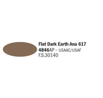 Flat dark Earth Ana 617