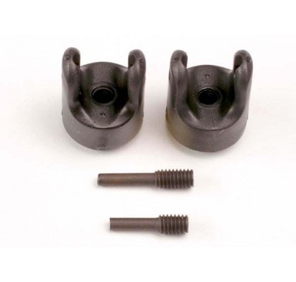 Transmission Output Yokes (Heavy Duty) (2)/ set screw yoke pins, M4/10 (1) & M4/18.5 (1)