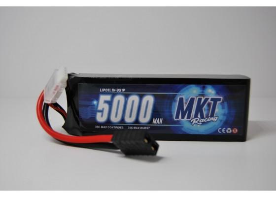 5000mAh 35C 3S Traxxas Plug