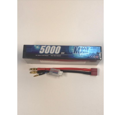 5000 50C 2S Lipo Blackline Battery
