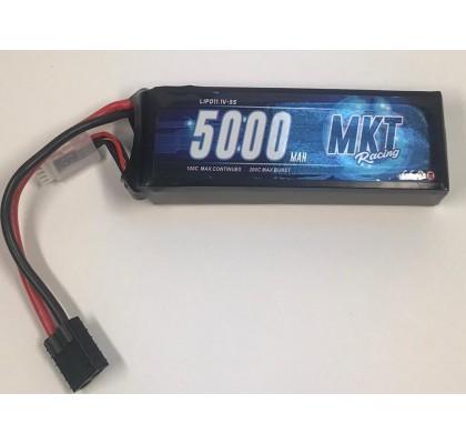 5000mAh 100C 3S Lipo Traxxas Konnektör