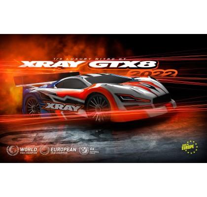 GTX 2022 1/8 OnRoad GT Yarış Arabası