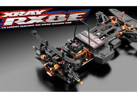 RX8E.2 - Lüks Elektrikli 1/8 Onroad Yarış Arabası
