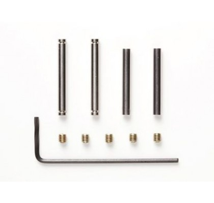 2.6MM TIT COATED SHAFT SET FOR REVERS SUSPEN