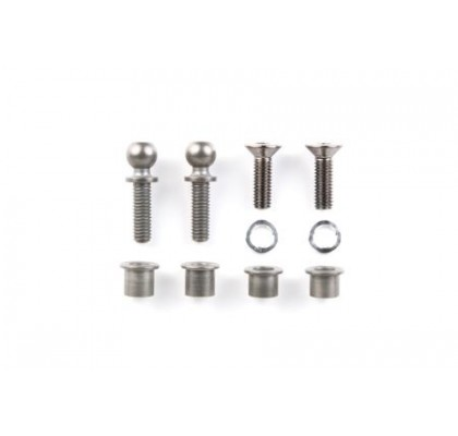 RC TB-03 Ball Head King Pin - (Fluorine Coated)
