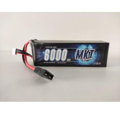 6000mAh 50C 4S Lipo 14.8V