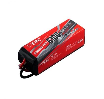 ERC Lipo Pil 6100mAh-4S1P-14.8V 45C/90C XT60