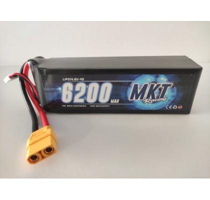 6200mAh 75C 4S Lipo 14.8V