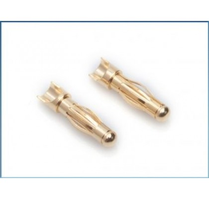 4mm Gold universal connectors (10 PCS)