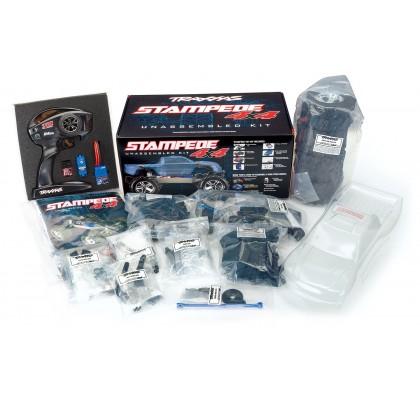 Stampede 4X4 Demonte Kit (Uzaktan Kumanda ve Elektronikler Dahil)