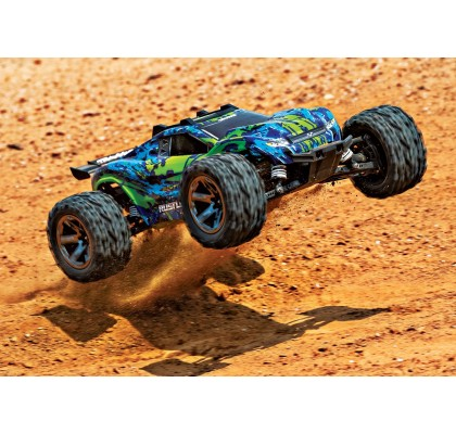 Rustler 4X4 VXL: The Stadium Truck-Brushless Motor