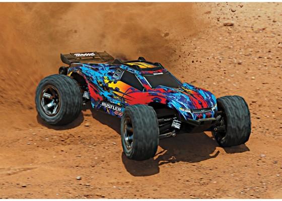 Rustler 4x4 VXL 1/10 Ölçekli Stadyum Kömürsüz Motorlu Arazi Aracı