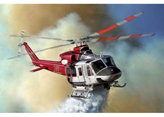 Bell 412 Los Angeles City Fire Dep.
