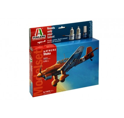 JU - 87 B2 Stuka-Model Set 1:72 Scale