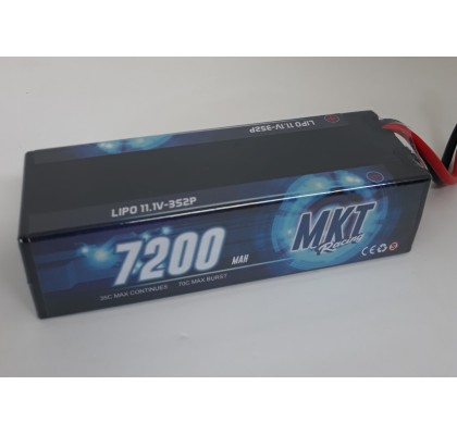 7200 35C 3s Hard Case Lipo