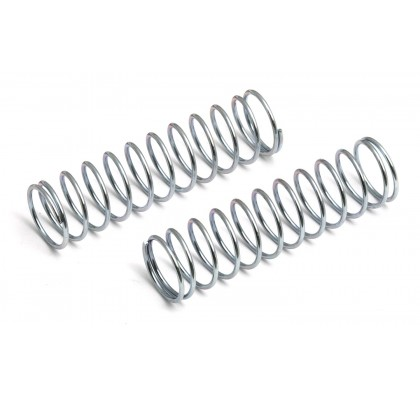 Front Shock Springs, silver, 3.22 lb/in