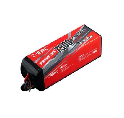 ERC Lipo Pil 7500mAh-4S1P-14.8V 45C/90C XT60