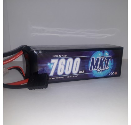 7600mAh 35C 4S Lipo Black Line Battery