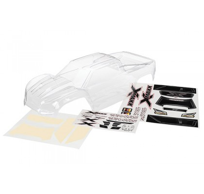 Body, X-Maxx® (clear, trimmed, requires painting)
