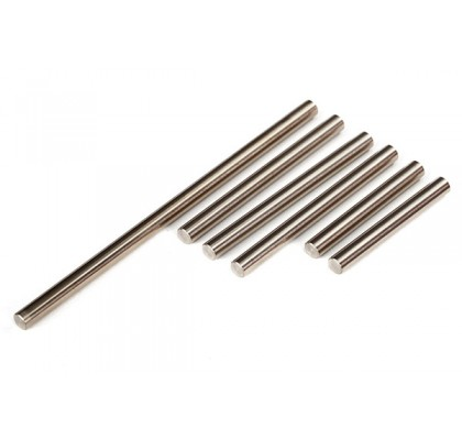 Suspension Pin Set, Front or Rear Corner (hardened steel), 4x85mm (1), 4x47mm (3), 4x33mm (2)