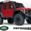 TRX-4 Land Rover Crawler RED 1/10 Crawler 2.4GHz