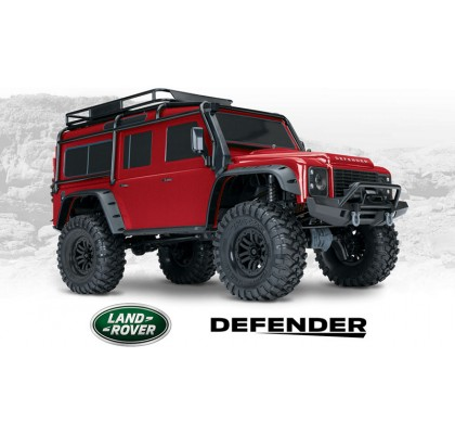 TRX-4 Land Rover Defender Crawler RED 1/10 Crawler 2.4GHz