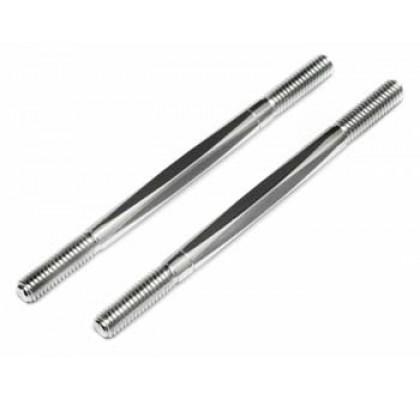 TURNBLOCKLE 6X92mm (ALUMUNUM/2PCS) FOR BAJA 5B