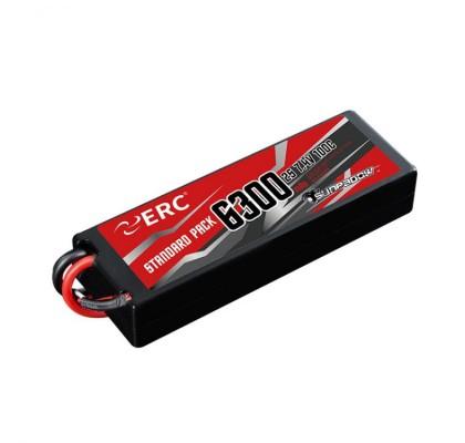ERC Lipo Pil 6300mAh-2S1P-7.4V 50C/100C