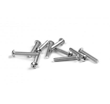 Hex Screw SH M3x18 - Left Thread (10)